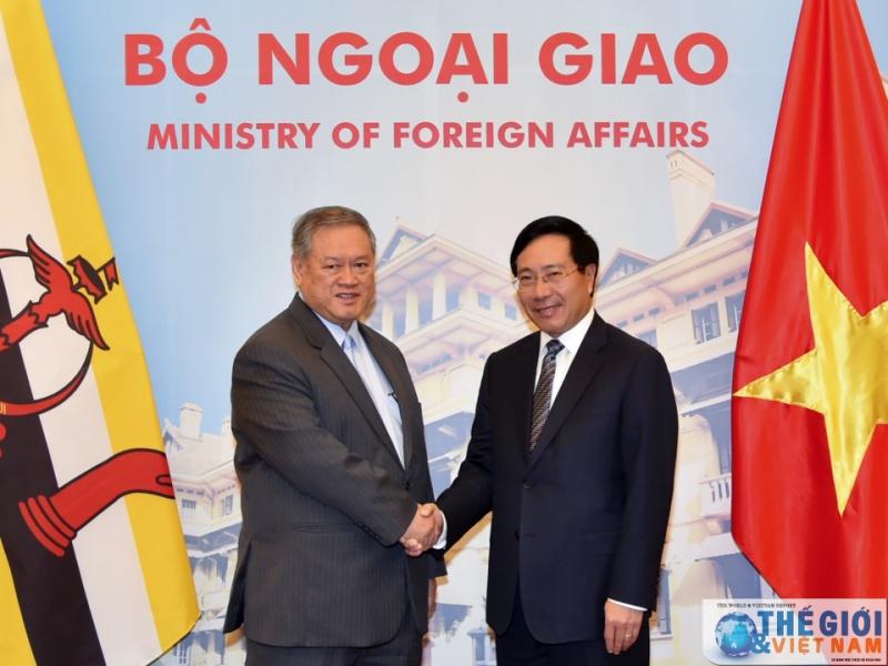 Bộ trưởng thương mại Brunei thăm Việt Nam