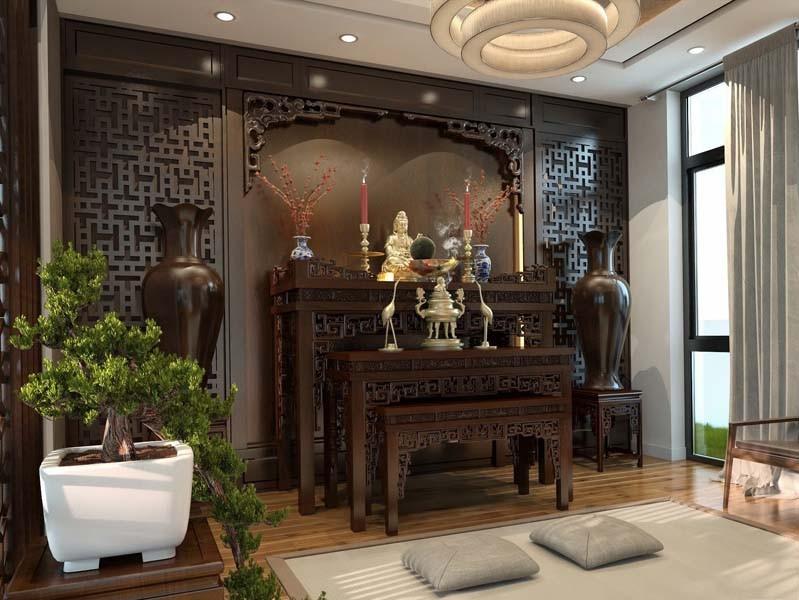 Bàn thờ Phật tại nhà bài trí như thế nào?