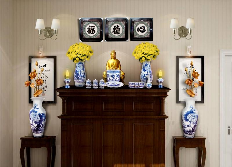 Cách chọn đồ thờ bàn thờ Phật tại nhà