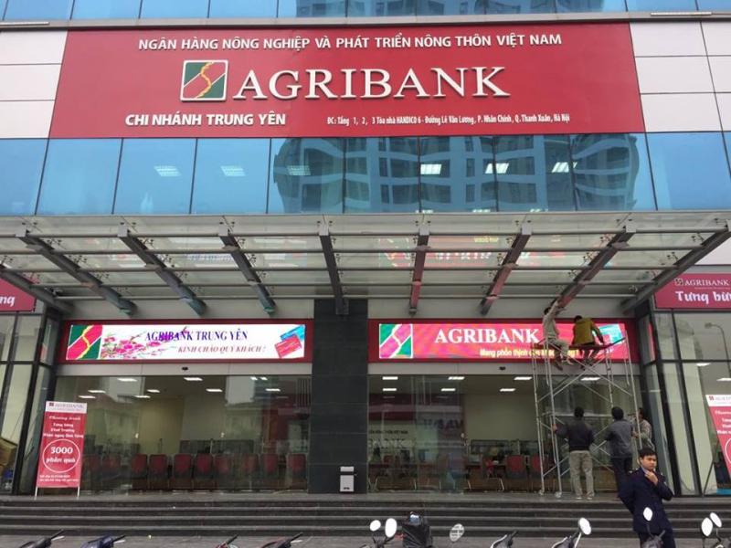 Trụ sở Agribank Trung Yên