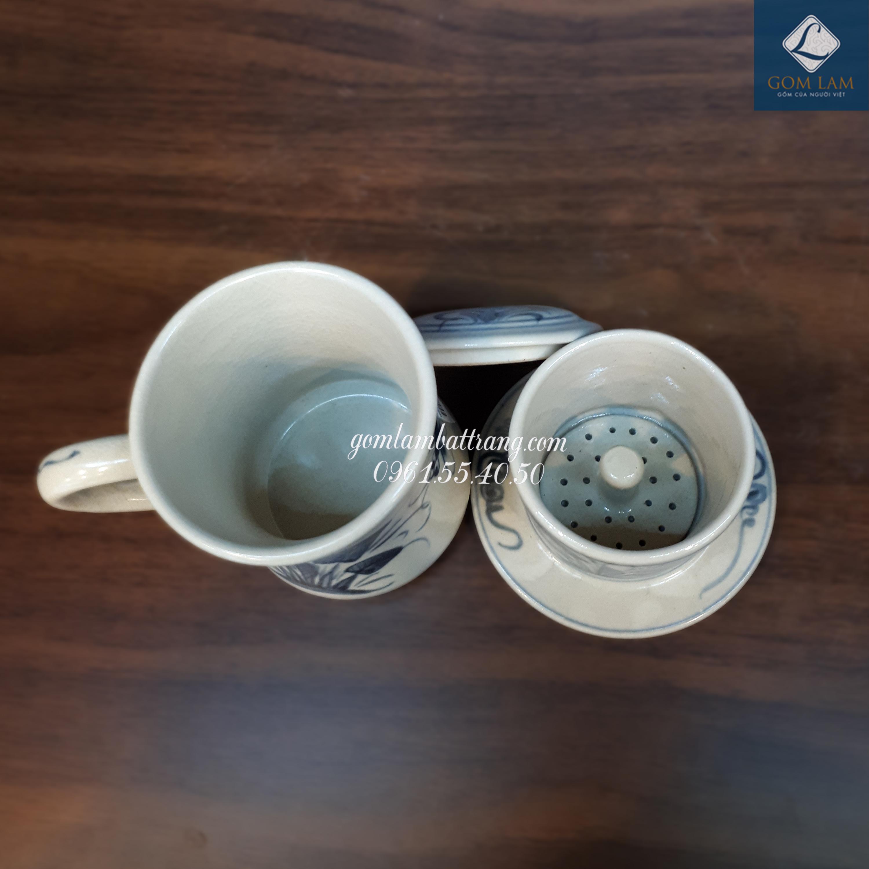 Bộ cà phê cao chuồn khoai chàm cổ