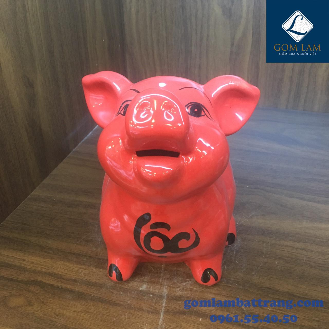 Lợn sứ tiết kiệm