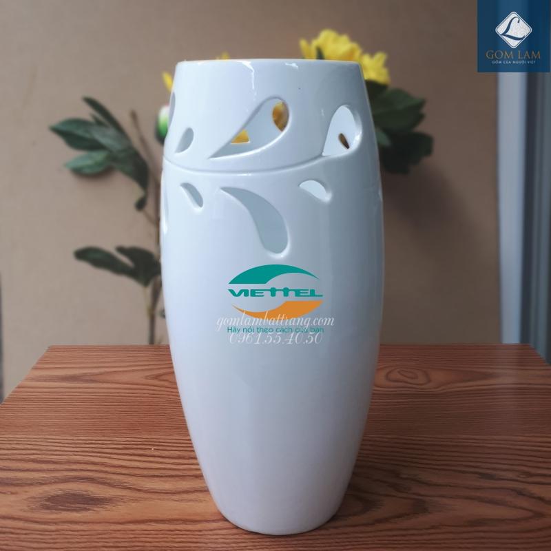 Lọ hoa in logo